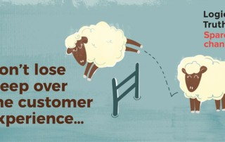 dont lose sleep - Logical Truth - Don't lose sleep over the customer experience… Lose sleep over the employee experience